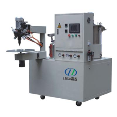 A B Two Compounds Filter End Cap Gluing Machine