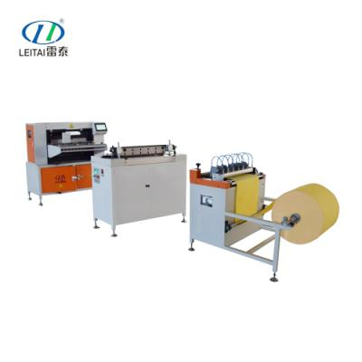 Auto Knife Paper Pleating Production Line G2