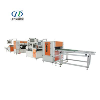 Auto PP pleating Separate Gluing Production Line G4