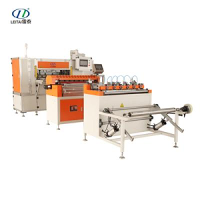 Full-auto CNC High Speed Filter Paper Folding Production Line G5