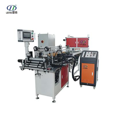 Full-auto cabin air filter side-gluing machine